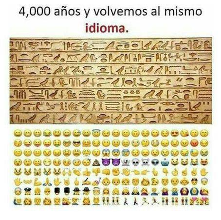 Pictogramas - Jeroglífico - Emojis