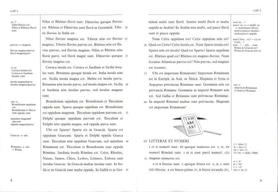 Páginas desdeLingua Latina per se Illustrata, Pars I, Familia Romana_Página_2