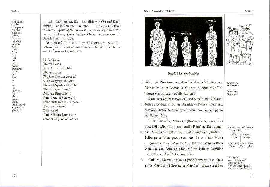 Páginas desdeLingua Latina per se Illustrata, Pars I, Familia Romana_Página_4