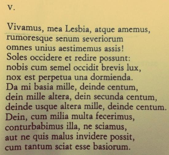 Catullo, 5
