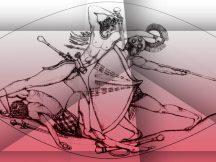 tesoro-del-guerrero-de-griffin-muestra-del-disec3b1o-que-representa-el-combate-pilos-c3a1gata-universidad-de-cincinati-805x605